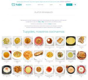 Dieta mediterránea Tupy para una alimentación sana y variada - El tazón maravilla - Tupy - Comida a domicilio