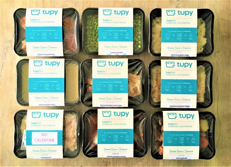 Tupy seguirá alimentándote durante el Estado de Alarma - TUPY - Comida casera a domicilio