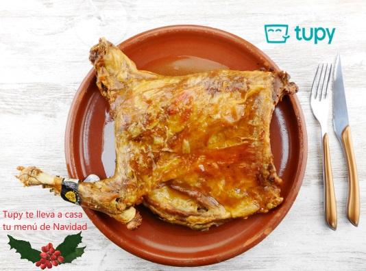 Cordero lechal de Tupy en tu menú de Navidad pese al Estado de Alarma - Muchas familias han encargado ya nuestro cordero lechal para su menú de Navidad. Lo encargas - Te lo enviamos - Aguanta un mes y si sobra se puede congelar - Menú de Navidad - Tupy